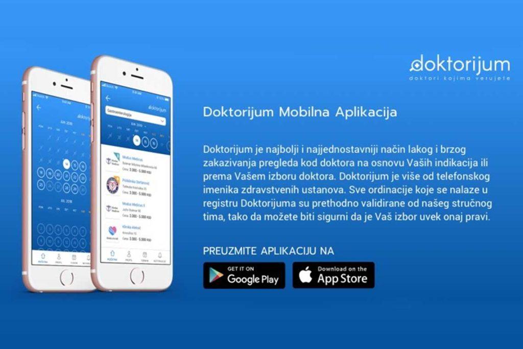 Doktorijum aplikacija